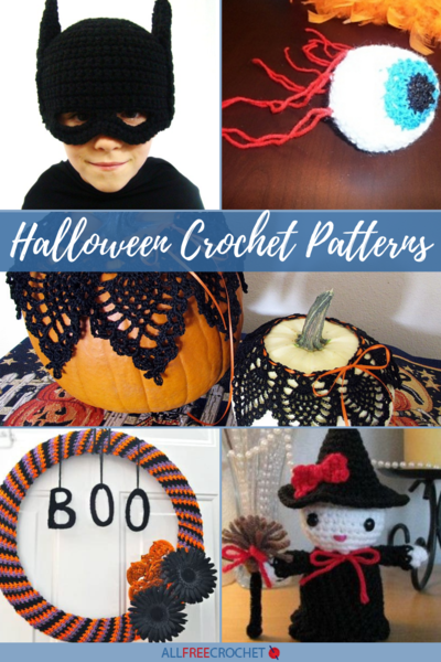 21 Free Halloween Crochet Patterns