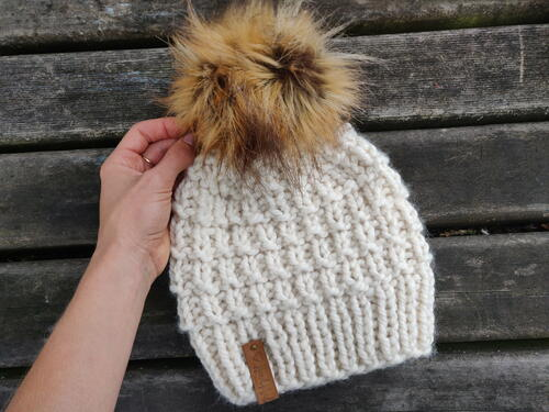 Vortex Bulky Knit Hat