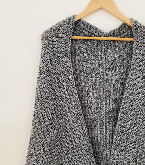 Broken Rib Stitch Cardigan
