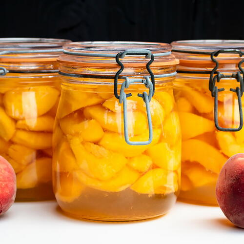 Home Canned Peaches Recipe