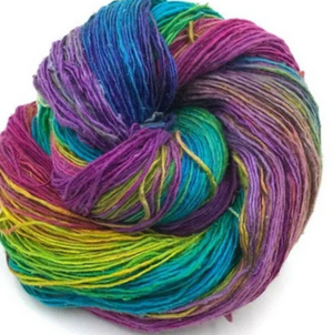 Stunning Watercolors Silk Darn Good Yarn Giveaway