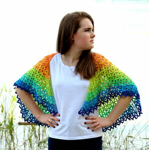 Summer Petals Shawl