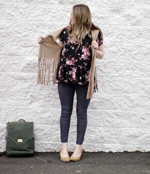 One Hour Funky Fringe Vest