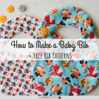 How to Make a Baby Bib (+12 Free Bib Patterns)