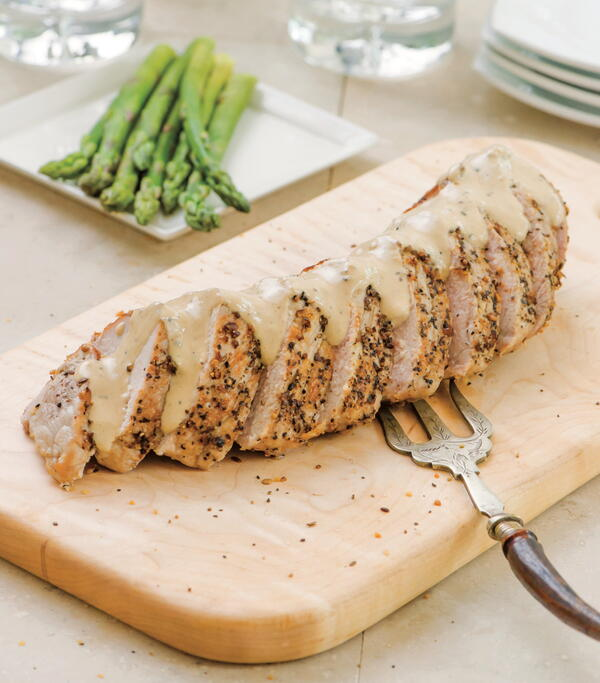 One-Pan Roast Pork Tenderloin