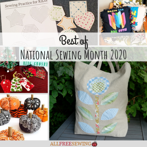 Best of National Sewing Month 2020
