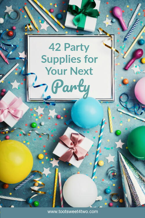 42 Party Supplies For Your Next Party