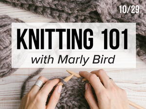 FaveCrafts Studio Live: Knitting 101