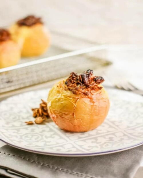 Air Fryer Baked Apples