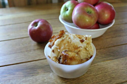 Caramelized Apple Topping For Ice Cream