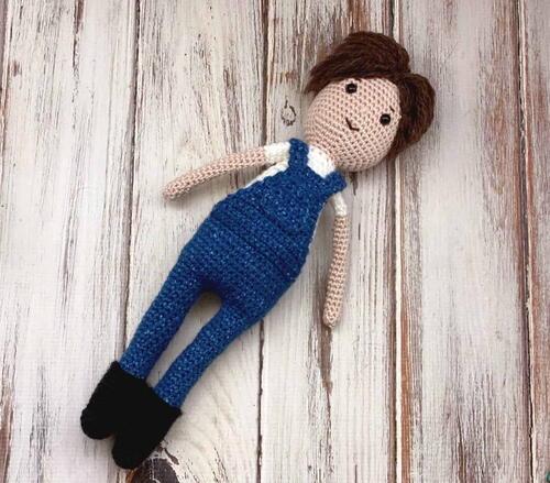 Hank Crochet Doll