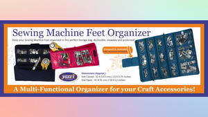 Sewing Machine Feet Organizer Giveaway