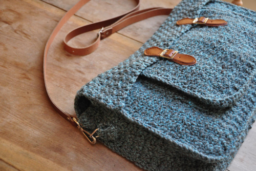 Quotidian Crochet Satchel