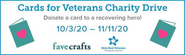 Cards for Veterans Charity Drive