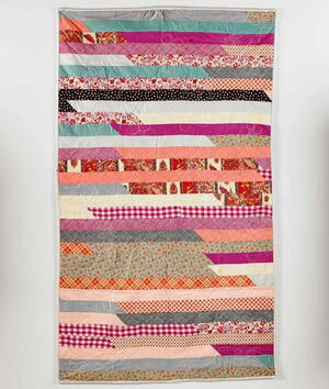 Race to the Finish Jelly Roll Quilt