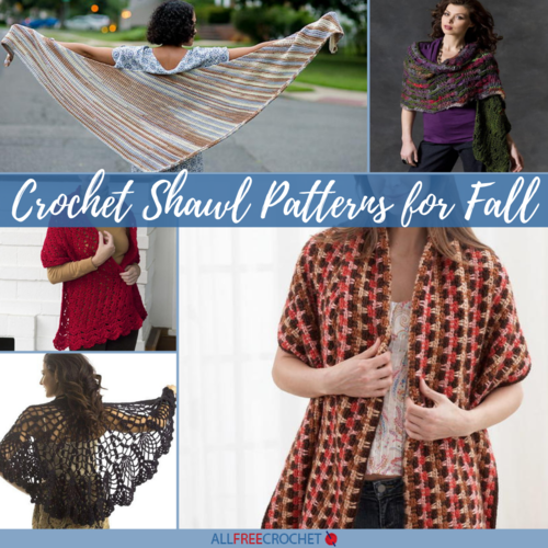 7 Crochet Shawl Patterns for Fall