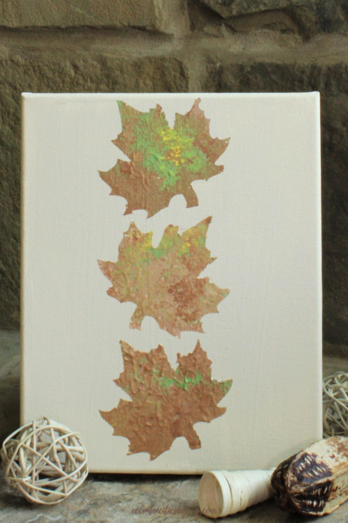 Fall Leaves Painting For Home Decor