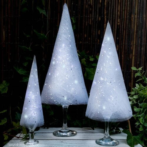 Easy Tabletop Christmas Trees