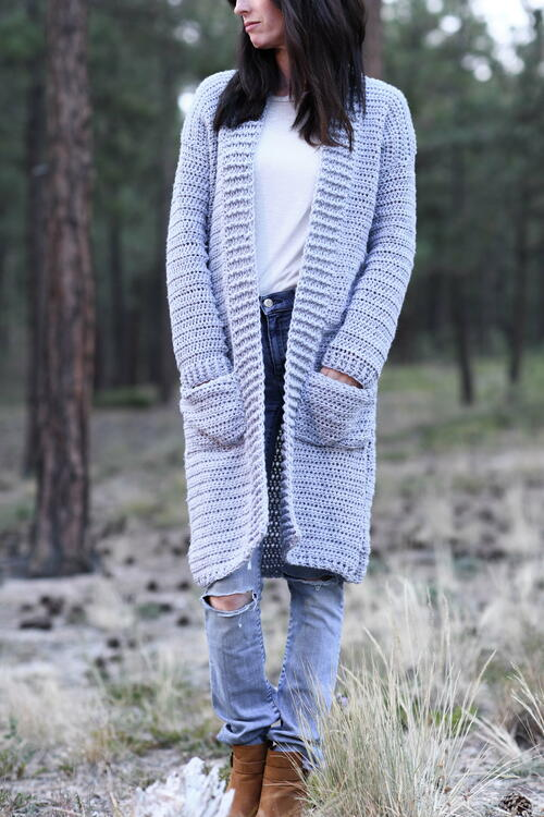 Autumn Duster Cardigan