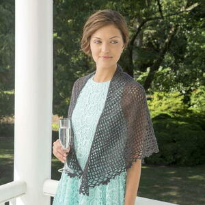 Downton Abbey Dowager Shawl