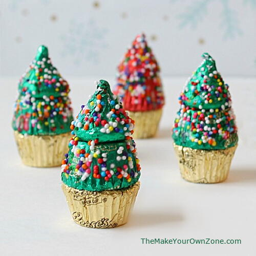 Mini Candy Christmas Trees
