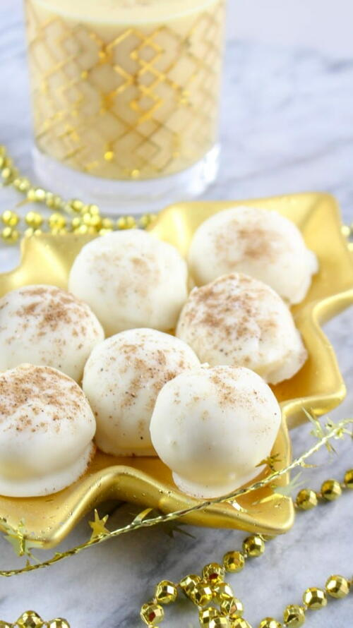 Decadent And Delicious Eggnog Truffles Recipe