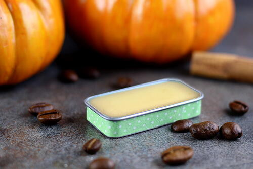 Pumpkin Spice Latte Lip Balm Recipe