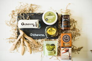Belle Chevre Ultimate Cheese Gift Box Giveaway