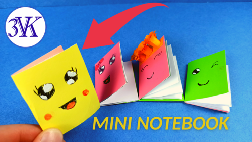 How To Make An Origami Mini Notebook
