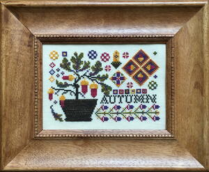 Autumn Cross-Stitch Design and Thread Giveaway