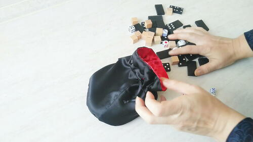 Easy Diy Dice Bag