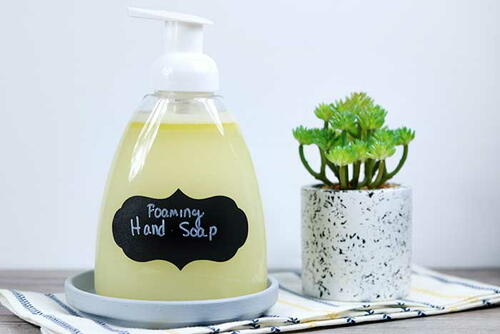 Thieves Oil Foaming Hand Soap Recipe