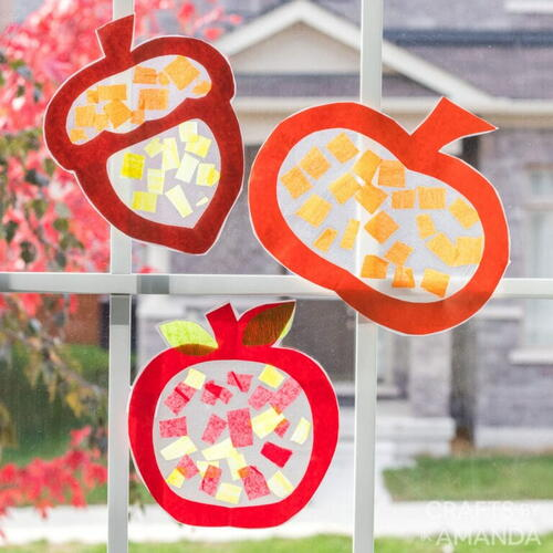Fall Suncatchers