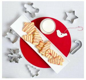 18pc Christmas Cookie Cutters Set Giveaway
