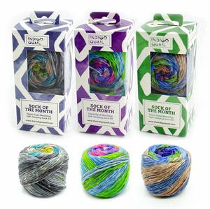 Darn Good Yarn Self Striping Alanya Sock Yarn Bundle Giveaway
