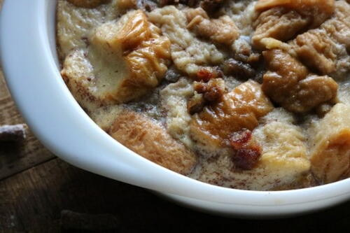 The Very Best Slow Cooker Bread Pudding