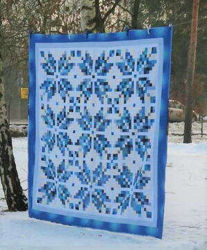 Norwegian Snowflakes Quilt Pattern