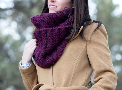 Easy Beautiful Go-to Cowl