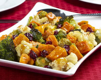 Maple Glazed Harvest Vegetables