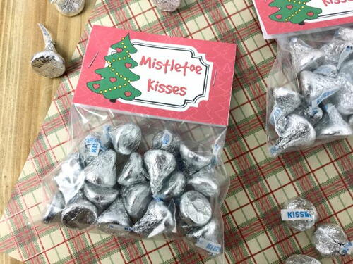 Mistletoe Kisses Treat Bags
