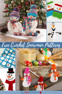 66 Free Crochet Snowman Patterns