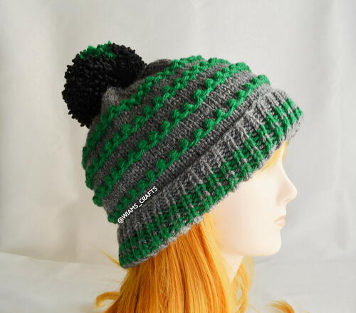 Beaded Rounds Hat