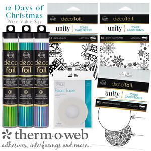 Therm O Web Winter Fairytale Fast Foiled Card Supplies Giveaway