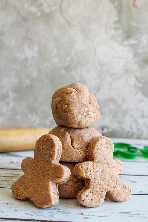 Easy Gingerbread Scented Playdough Recipe