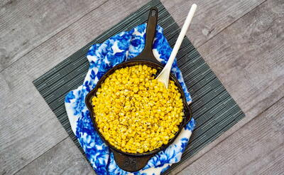 Easy Skillet Southern Creamed Corn Recipe