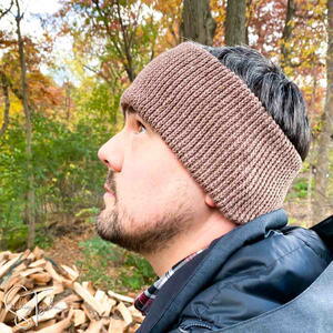 Afton Men's Crochet Ear Warmer