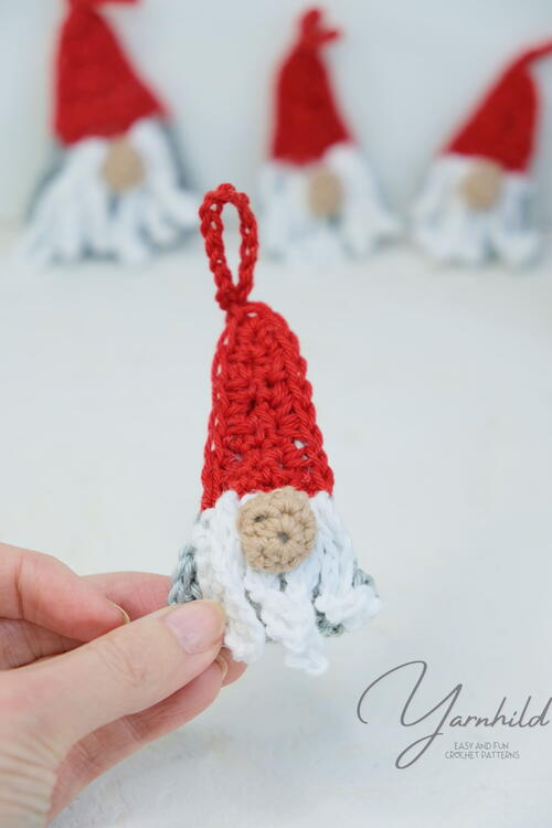 Crochet Ragdoll Mini Gnome