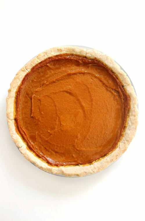 The Best Gluten-free Vegan Pumpkin Pie (allergy-free)