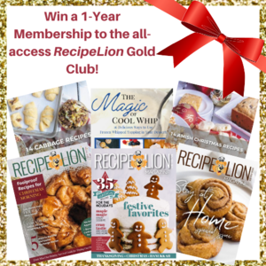 RecipeLion Gold Club Membership Giveaway