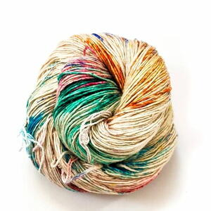 Darn Good Yarn Confetti Silk Yarn Giveaway